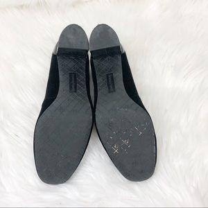 Donald J. Pliner Shoes - Black Velvet Pumps Donald Pliner Size 9.5M
